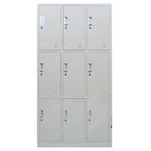 浴室浴池宿舍更衣室9九门铁皮衣柜更衣柜员工柜储物