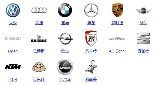 汽车标志大全-资讯-合肥羽墨办公